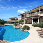 Rear Elevation & Pool Westerings Villa Barbados